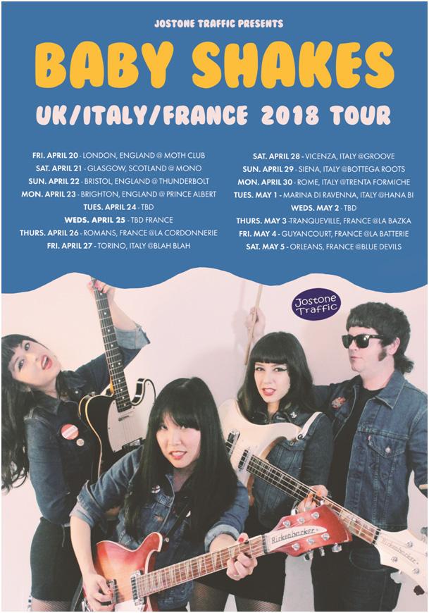 UK France Italy 2018 Tour